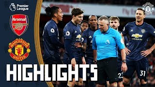Highlights | Arsenal 2-0 Manchester United | Premier League