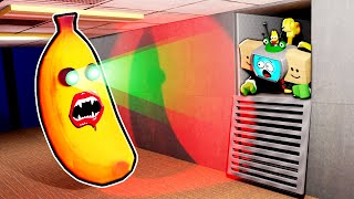 EVIL ROBLOX BANANA EATS PLAYERS!