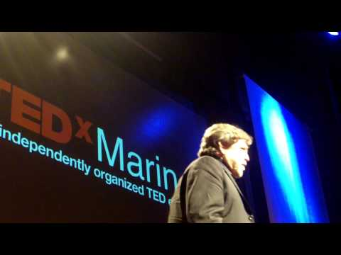 John Parry Barlow: Inspirational As Always at TEDxMarin