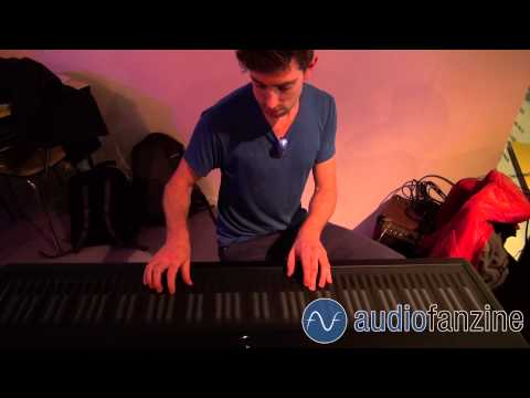 [IRCAM live] Gentry performing with his ROLI Seaboard