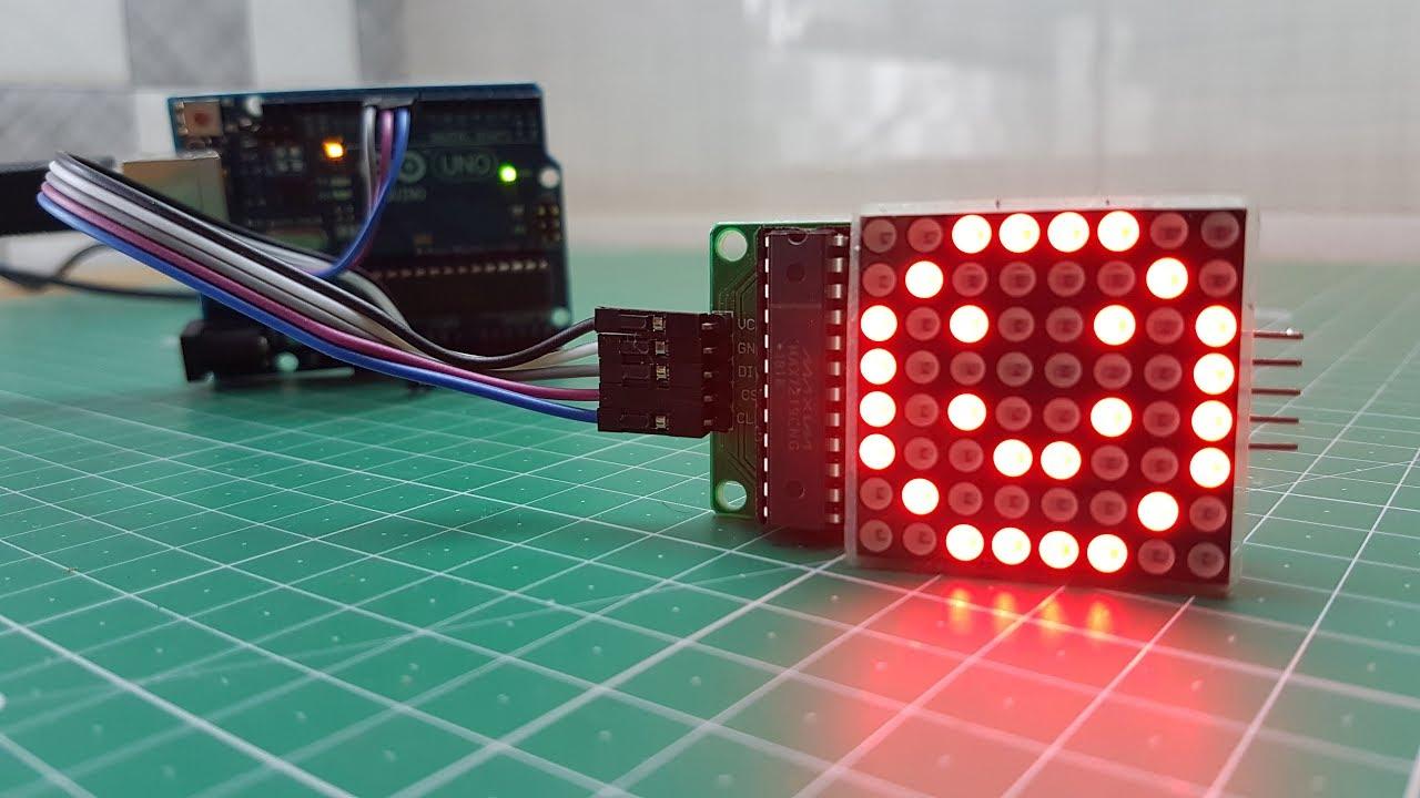 max7219-8x8-led-matrix-code