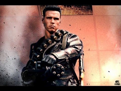 Baixar Terminator 2 Judgment Day Hot Toys DX-10 T-800 1/6 Scale Collectible Movie Figure Review