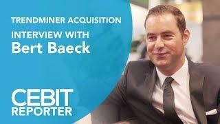TrendMiner Acquisition: Interview with Bert Baeck - CEBIT LIVE REPORTER