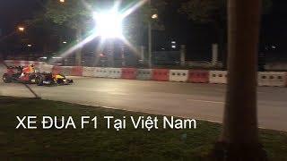 Siêu Xe F1 Redbull Tăng Tốc Kinh Hoàng Trên Đường Phố Hà Nội - F1 redbull racing - Race Highlights