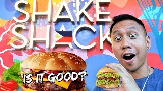 Is SHAKE SHACK Manila as Good As USA Shake Shack? | Vlog #498