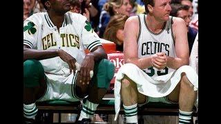 Larry Bird & Robert Parish ''Basketball Clinic'' vs Miami Heat (1991)