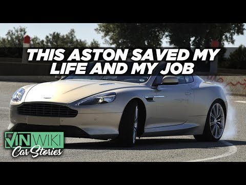 Aston Martin traction control saved my life & my job