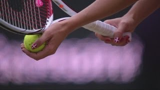 Hantuchova (SVK) v Wozniacki (DEN) Women's Tennis 3rd Round Replay - London 2012 Olympics