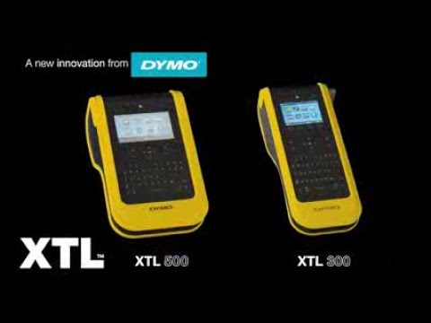 DYMO XTL 500 and 300 Label Makers