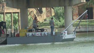 50,000 gallons of sewage leaked into Lake LBJ after flood debris damaged Kingsland pipeline