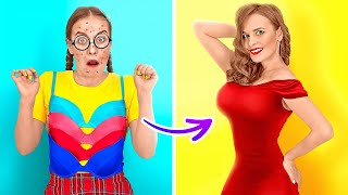 EPIC HACKS TO BECOME POPULAR AT SCHOOL || Cool Tik Tok Hacks And DIY by 123 GO!
