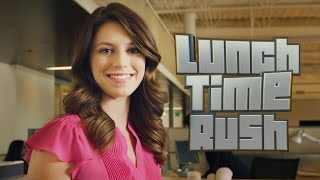Office Parkour (LUNCHTIME RUSH Gameplay Video)