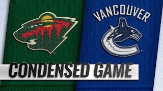 10/29/18 Condensed Game: Wild @ Canucks
