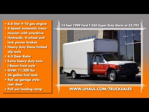 U Haul Truck Sales Showcase Youtube