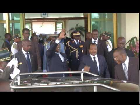 visite de travail et d'amitié du Président Tchadien au Cameroun