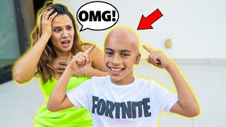 Ferran SHAVED His HAIR OFF!! **Mom FREAKS OUT** | The Royalty Family
