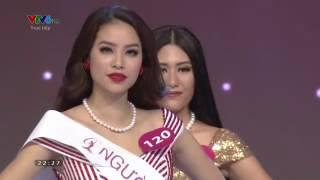 Phạm Thị Hương đăng quang Hoa hậu Hoàn vũ Việt Nam 2015