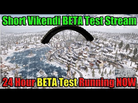 Short Vikendi (SNOW MAP) BETA Stream With DerekG - Let's ...