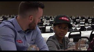 Dillon meets 'lucky penny' fan after Daytona 500 win