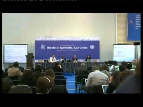 IGF 2012 WS: Internet regulation for improved access in emerging markets
