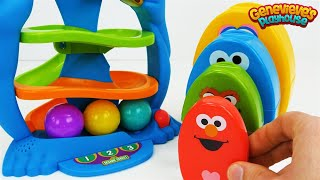 Best Toy Learning Video for Baby - Teach Colors with Cookie Monster - YouTube
