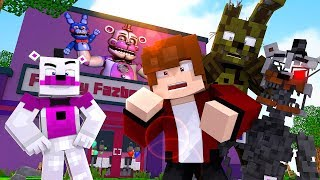 Minecraft FNAF 6 Pizzeria Simulator - VISITING FREDDY'S NEW PIZZARIA! (Minecraft Roleplay)