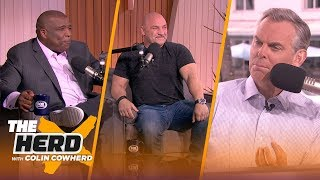 Curt Menefee & Jay Glazer talk Super Bowl LIV, Tom Brady, Drew Brees   THE HERD   LIVE FROM MIAMI