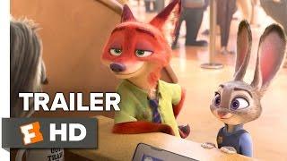Zootopia (2016) Sloth Trailer – Disney Animated Movie HD