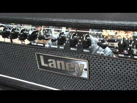 Laney Lh50 Guitar Amplifier Demo