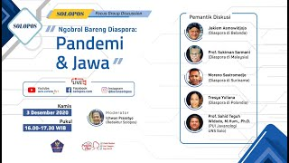 "Solopos Focus Group Discussion ""Ngobrol Bareng Diaspora: Pandemi dan Jawa"""