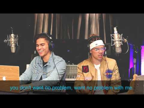 Alex Aiono & William Singe MASHUP. Confessions | No Problem | Black Beatles lyrics