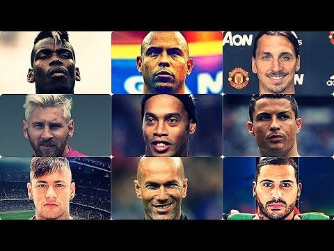 Epic Football Skills Mix - Ronaldinho,Ronaldo,Messi,CR7,Zidane,Neymar,Ibra,Okocha,Quaresma,Pogba HD