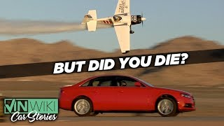 A plane flew into my car and I survived