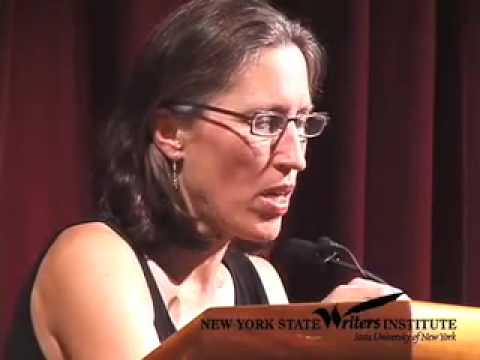 Jane Hamilton at the NYS Writers Institute in 2007