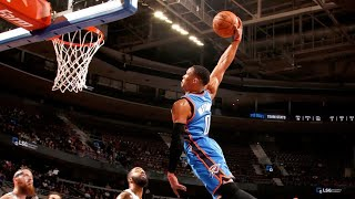 Russell Westbrook's Most Violent Dunks of His Career (UPDATE)