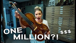 Why is This Violin 1.2 Million Dollars?!