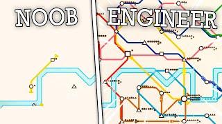 Overengineering the LONDON UNDERGROUND in Mini Metro!