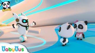 Super Panda Got A New Mission | Super Panda Rescue Team | BabyBus Cartoon for Kids