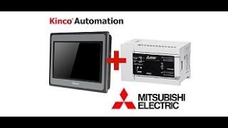 ต่อFX5U Mitsubishi PLCกับGENESIS SCADA ผ่านModbus TCP/IP