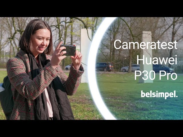 Belsimpel-productvideo voor de Huawei P30 Pro 128GB Twilight