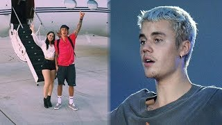 Justin Bieber & NEW Girl Take Private Jet To Coachella 2018