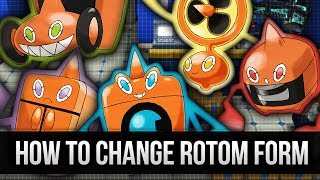 How & Where to catch/get - How to change Rotom forms in Pokemon X and Y