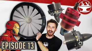 Flying Like Iron Man #13: JET ENGINES, EDFS AND MORE!