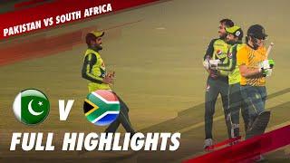 Full Highlights   Pakistan vs South Africa   1st T20I 2021   ME2T