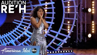 Reporting For Duty! Soldier Re'h Surprises Judges With An Outfit Change! - American Idol 2021
