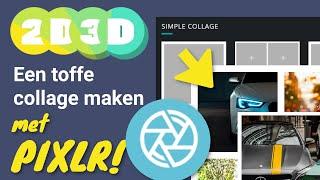 Een toffe collage maken met Pixl