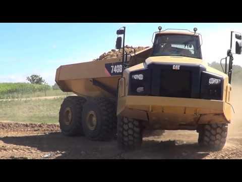2011 Cat 740B Haul Truck, A01856 SOLD