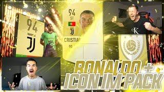CRISTIANO RONALDO & ICON im PACK 🔥🔥🔥 FIFA 19 PACK OPENING!!!