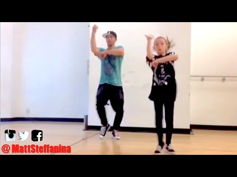 RUDE - Magic Dance | @MattSteffanina ft 11 year old Taylor Hatala