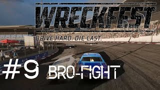 Wreckfest #9 Bro-fight [EnderFox VS Jabbschy]